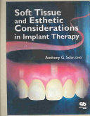 Soft Tissue and Esthetic Considerations in Implant Therapy