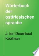 Wörterbuch der ostfriesischen sprache