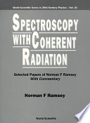 Spectroscopy With Coherent Radiation