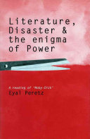 Literature, Disaster, And The Enigma Of Power : realm of thinking and in the concepts and...