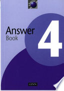 New Abacus 4 Answer Book