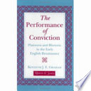 The Performance of Conviction Pdf/ePub eBook