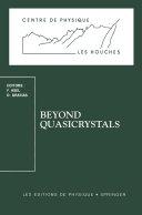 download ebook beyond quasicrystals pdf epub