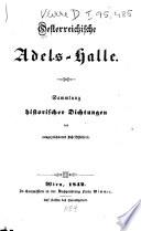 Oesterreichische Adels-Halle