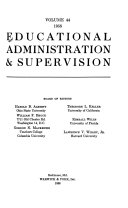 Educational Administration   Supervision