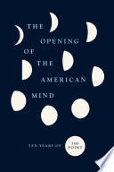 Book The Opening of the American Mind