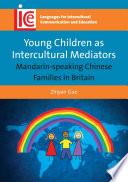 young children as intercultural mediators