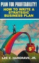 Plan for Profitability