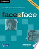 Face2face Intermediate Teacher s Book with DVD