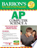 Barron s AP Computer Science A  7th edition