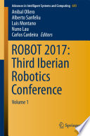 ROBOT 2017: Third Iberian Robotics Conference