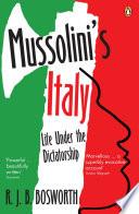 Mussolini S Italy