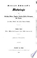 Mythologie der Griechen  R  mer    gypter  Semiten  Perser  Germanen  und Slaven