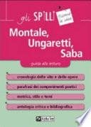Montale, Ungaretti, Saba