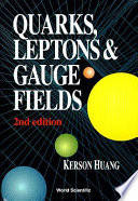 Quarks  Leptons   Gauge Fields