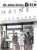 The Maine History News