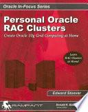 Personal Oracle RAC Clusters
