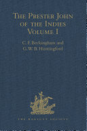 The Prester John Of The Indies book