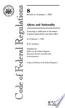 L.S.A., List of C.F.R. Sections Affected
