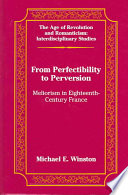 From Perfectibility To Perversion book