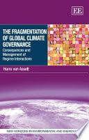 The Fragmentation of Global Climate Governance