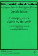 Homepages im World Wide Web