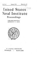 Proceedings of the United States Naval Institute