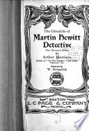 The Chronicles of Martin Hewitt  Detective