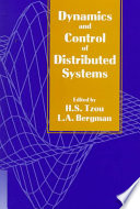 Dynamics And Control Of Distributed Systems book
