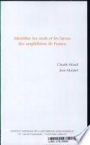 illustration Identifier les oeufs et les larves des amphibiens de France