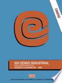 Chiapas  XIII Censo Industrial  Resultados definitivos  Censos Econ  micos 1989