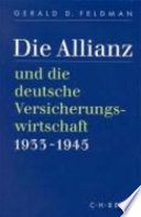 Die Allianz und die deutsche Versicherungswirtschaft, 1933-1945