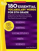 180 Essential Vocabulary Words for 5th Grade