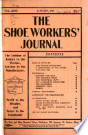 The Shoe Workers  Journal