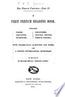 The French Principia ...: A first French reading book