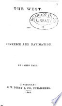 The West  Its Commerce and Navigation Book PDF