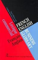 illustration du livre French/English Business Glossary