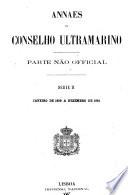 Annaes do Conselho Ultramarino