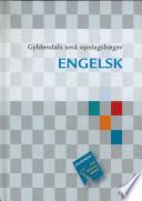 Gyld. Små Opslagsbøger. Engelsk