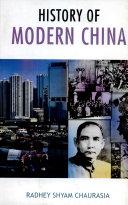 History of Modern China