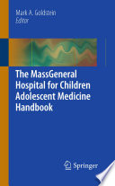 The MassGeneral Hospital for Children Adolescent Medicine Handbook