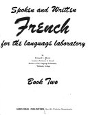 Spoken and written French for the language laboratory