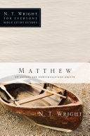 Matthew : walks you through matthew in this guide...