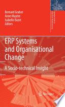 illustration du livre ERP Systems and Organisational Change