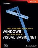 Programming Microsoft Windows with Microsoft Visual Basic  NET