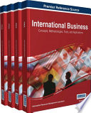 International Business  Concepts  Methodologies  Tools  and Applications