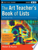 The Art Teacher s Book of Lists