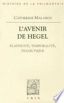 illustration du livre L'avenir de Hegel