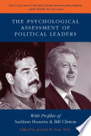 The Psychological Assessment Of Political Leaders
