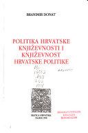 Politika hrvatske književnosti i književnost hrvatske politike